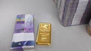 Investissements: l'or, deuxième placement favori des Suisses derrière l'immobilier