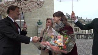 La conseillère d'Etat Rebecca Ruiz intègre le Château