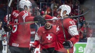 Hockey – Mondiaux 2019: la Suisse peine face à l'Autriche, mais elle déroule en fin de match et fait le plein de points