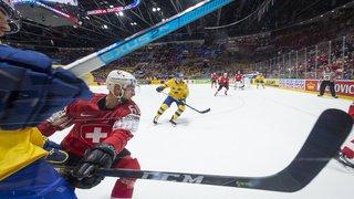 Hockey - Mondiaux 2019 - la Suisse connaît sa première défaite contre la Suède