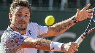 Tennis - Geneva Open: Stan Wawrinka sorti d'entrée par Damir Dzumhur