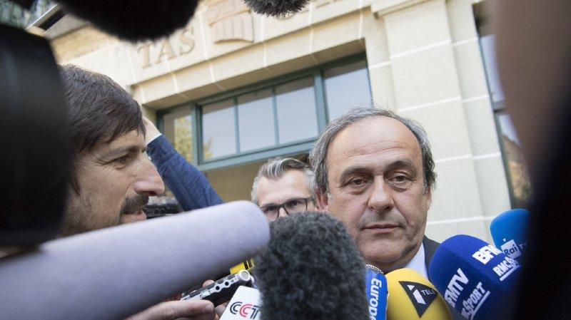 Les déboires de Michel Platini avec la justice n'en finissent pas (archives).