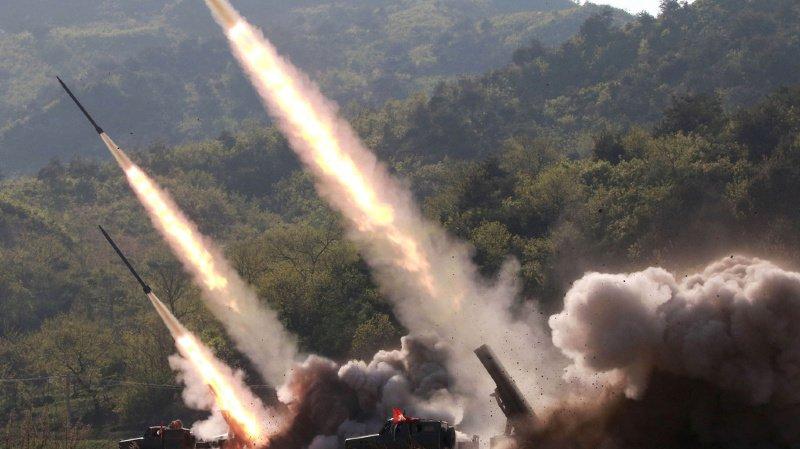 La Corée du Nord menace d'avoir l'arme nucléaire.