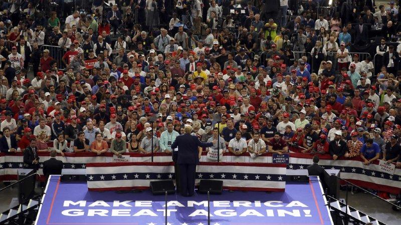 A Orlondo, Donald Trump a lancé sa campagne pour 2020 en terrain conquis.