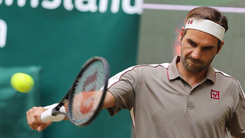 Tennis - Tournoi de Halle: Roger Federer bat Roberto Bautista Agut et se hisse en demi-finale