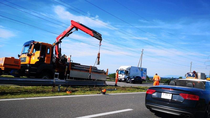 Un accident provoquait d'importants bouchons ce mardi matin, sur l'A1.