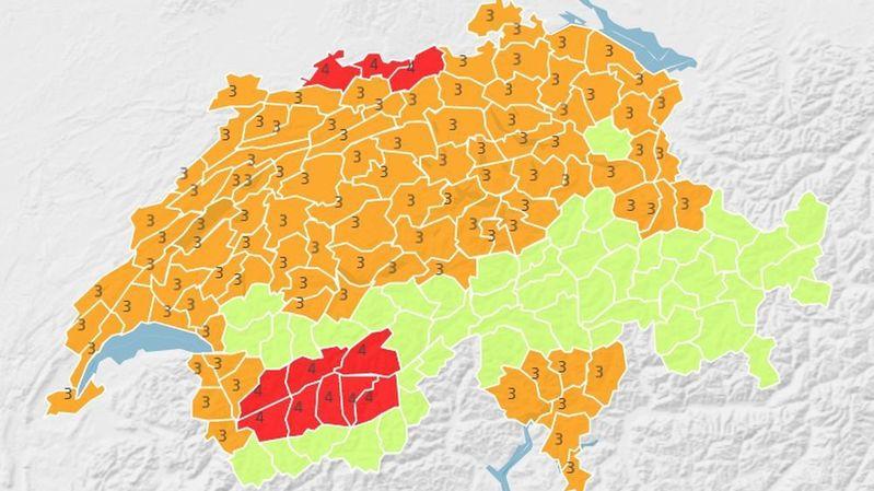 Alerte canicule: la Suisse se prépare à avoir très chaud, déjà 32,7°C ce lundi en Valais