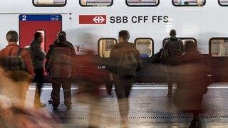Le trafic CFF entre Lausanne et Palézieux a été rétabli et reprendra normalement mardi matin