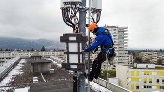 Télécommunications: Swisscom a déjà installé plus de 100 antennes 5G dans 58 localités suisses