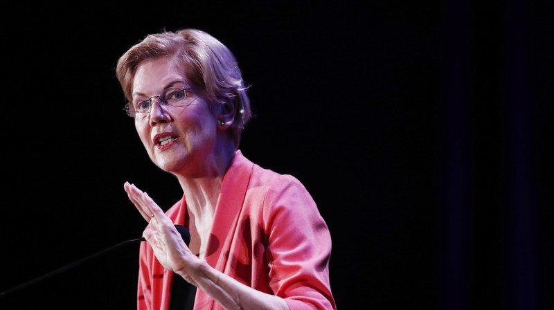 Elizabeth Warren, troisième dans les sondages parmi les prétendants démocrates, a été la première à ouvrir le bal sur le thème des inégalités économiques.