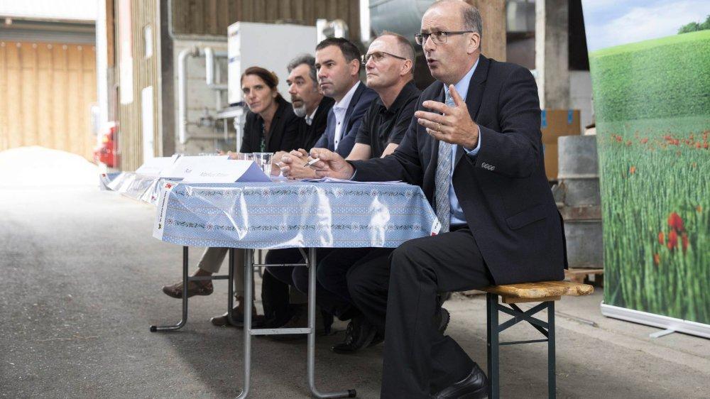 L'Union suisse des paysans a présenté hier à la presse les changements envisagés dans l'agriculture.