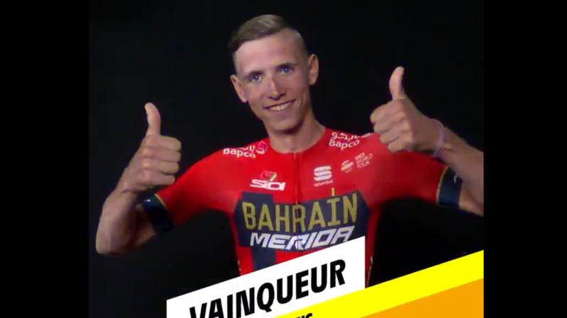 Dylan Teums a remporté la sixième étape du Tour de France.