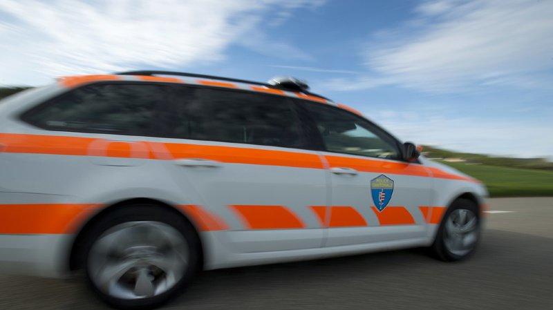 Jura: un accident de la route fait un mort entre Bourrignon et Develier