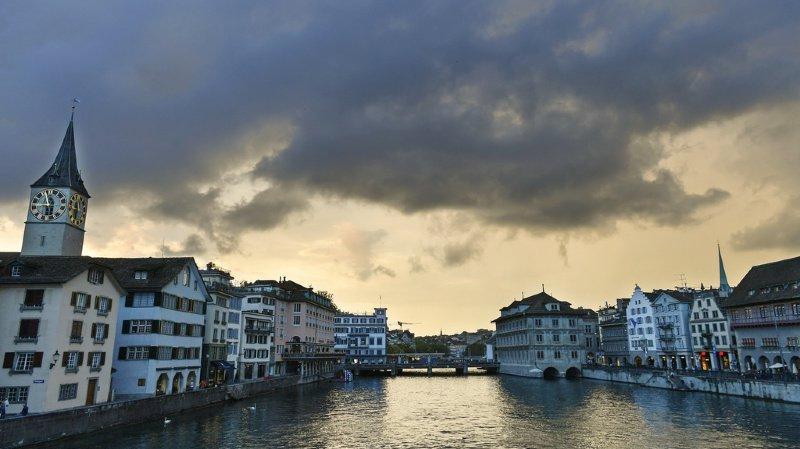 Météo: de violents orages se sont abattus sur la Suisse avec des vents à 135 km/h