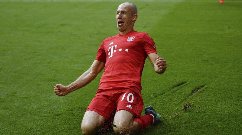 Football: le Néerlandais Arjen Robben met un terme à sa carrière