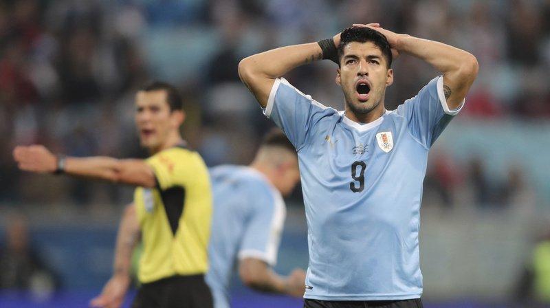Football - Copa America: après trois buts annulés par le VAR, l'Uruguay se fait sortir par le Pérou