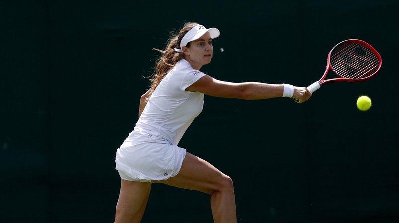 Tennis - Wimbledon: Stefanie Voegele est éliminée