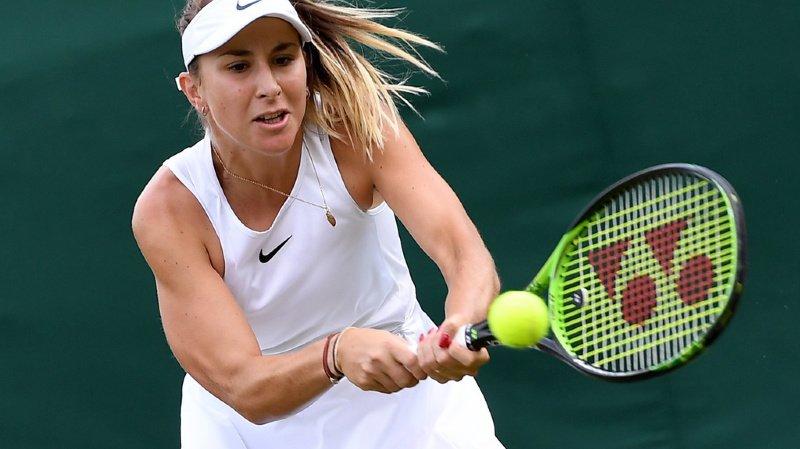 Tennis - Wimbledon: Belinda Bencic qualifiée pour le deuxième tour