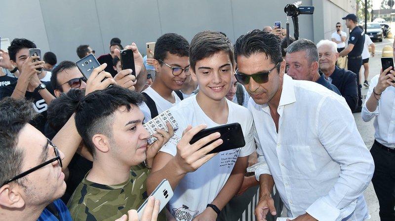 Gianluigi Buffon est de retour auprès de ses fans de la Juve.