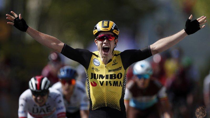 Cyclisme - Tour de France: le Belge van Aert s'adjuge la 10e étape, Alaphilippe creuse l'écart au général