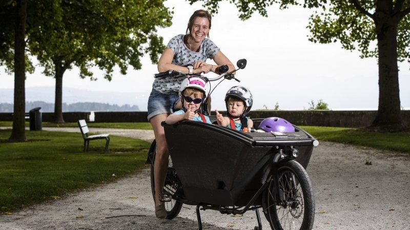 Les vélos-cargos morgiens en quête d'adeptes