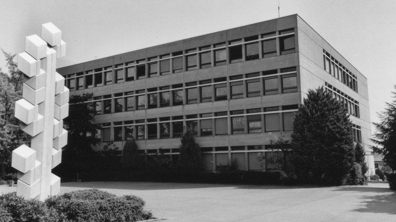 1969: les collégiens montent à Nyon-Marens