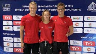 Trois nageurs de La Côte espèrent briller aux Européens juniors
