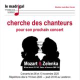 Recherche de chanteurs : Mozart et Zelenka