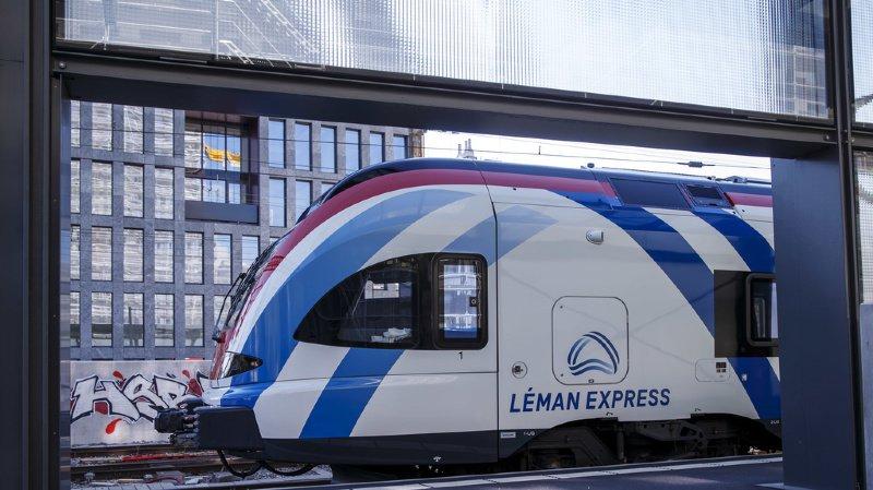 Genève: avec le Léman Express, il devrait y avoir 3'900 véhicules en moins sur les routes
