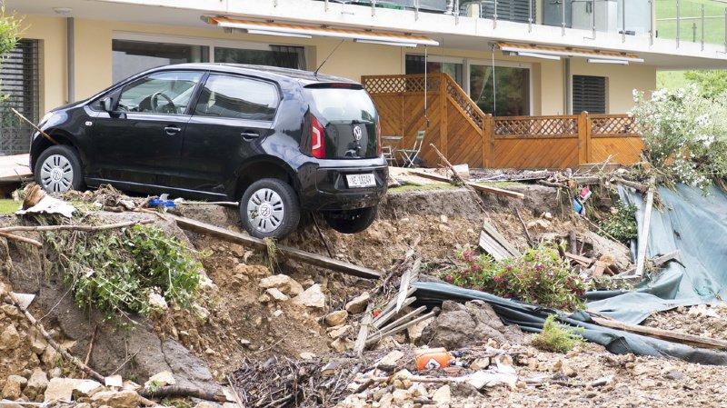 Le 21 juin, un orage particulièrement violent a touché le Val-de-Ruz.