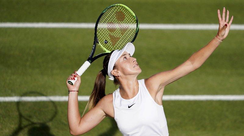 Tennis - Tournoi de Toronto: Bencic se hisse en huitièmes de finale en battant l'Allemande Görges