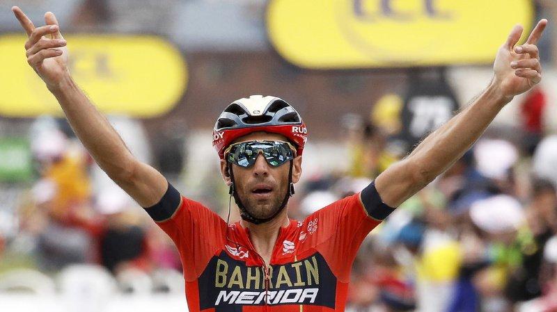 Cyclisme - Tour de France: l'Italien Nibali s'impose à Val Thorens, Egan Bernal devrait être titré dimanche