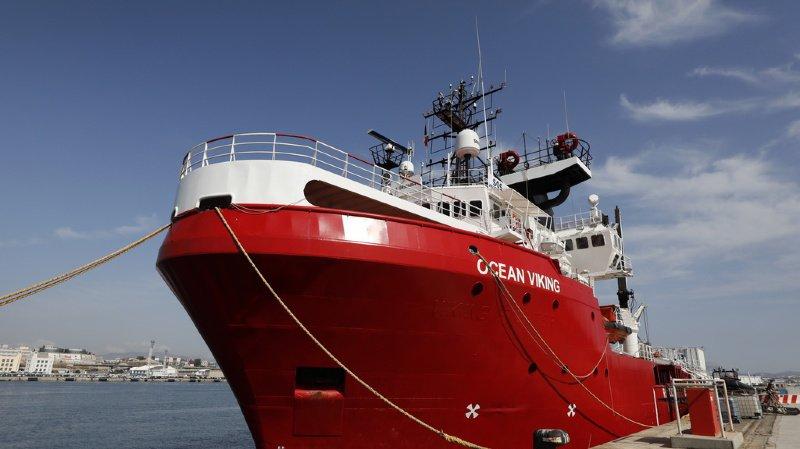Migrants en Méditerranée: l'Ocean Viking, successeur de l'Aquarius, a quitté le port de Marseille