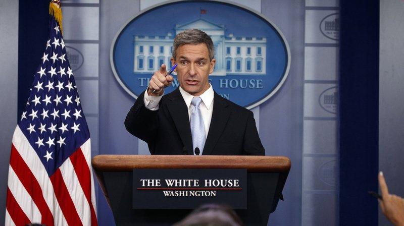 Ken Cuccinelli, directeur par intérim des services d'immigration américains, s'exprimaient lundi à la Maison-Blanche.