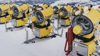 Des canons à neige pour lutter contre la fonte de l'Antarctique