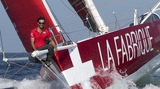 Traversée de l'Atlantique nord à la voile: le Genevois Alan Roura est en léger retard sur le record