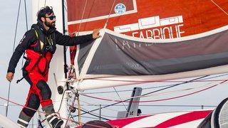 Traversée de l'Atlantique nord à la voile: le Genevois Alan Roura est en avance sur le record