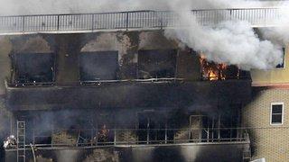 Japon: incendie dans un studio d'animation de Kyoto, le bilan s'alourdit à au moins 24 morts