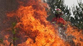De violents incendies ravagent à nouveau le Portugal