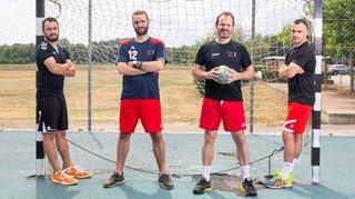 Les Ramel, emballés par le handball de père en fils