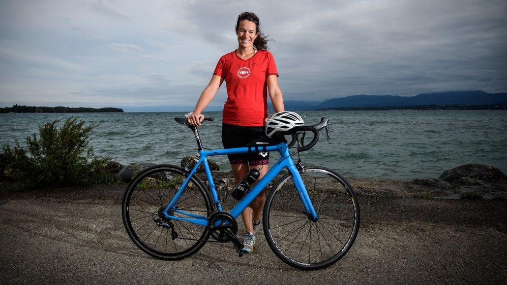 Samedi, Floriane Jeannin enfourchera à nouveau son vélo pour les Championnats du monde de semi-ironman, à Nice.