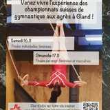 Championnats Suisses de gymnastique aux agrès