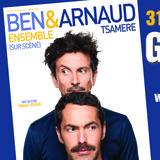 Ben & Arnaud Tsamere ensemble à Gingins.