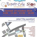 RepairCafeSion - Venez réparer avant de jeter
