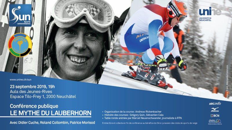 """Conférence publique """"Le Mythe du Lauberhorn"""""""