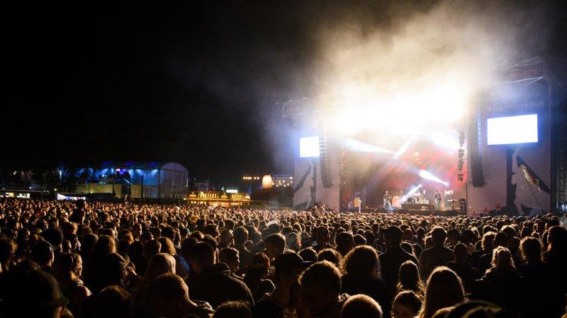 Le festival de Gampel est le deuxième plus gros open air de Suisse alémanique (archives).