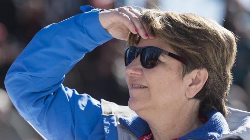 La ministre valaisanne des sports, Viola Amherd, veut maintenir la tradition des camps en Suisse (archives).