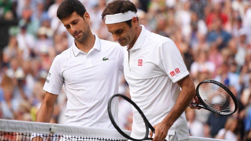 Contrairement à Wimbledon, Federer est certain de ne pas affronter Djokovic en finale de l'US Open (archives).