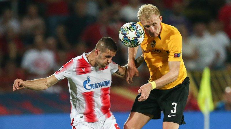 Football - Ligue des champions: Young Boys éliminé par l'Etoile Rouge de Belgrade