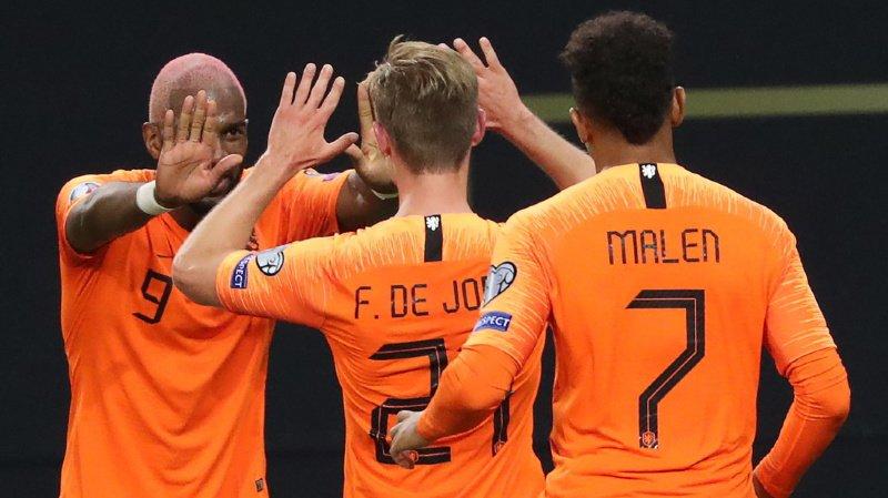Football – Euro 2020: les Pays-Bas battent l'Allemagne, la Croatie et la Russie vainqueurs